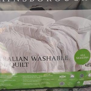 Australia wool qulit
